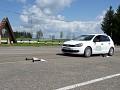 Jaunųjų automobilių vairuotojų varžybų nugalėtojai - Smalininkų komanda