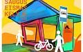 Konkurso saugaus eismo tema nugalėtojų darbais išpiešti paviljonai primins apie tinkamą elgesį kelyje