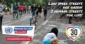 """6-osios JT pasaulinės saugaus kelių eismo savaitės šūkis −""""Gatvės už gyvenimą!"""