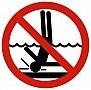 Saugokitės traumų vandenyje
