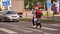 Eksperimentas: ar sostinės gyventojai teisingai vaikšto per pėsčiųjų perėjas?